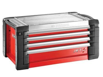 JET.C4M4 Tool Chest 4 Drawer Red